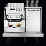 Compact coffee machine delivers barista-style milk quality