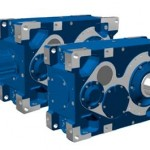 Industrial gear units with 190 kNm output torque