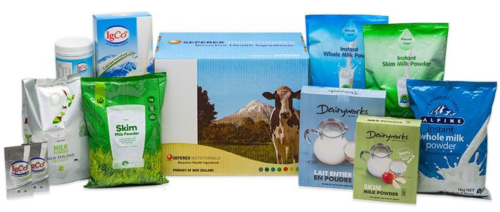 Selected examples of private label brands manufactured by Keytone Dairy.